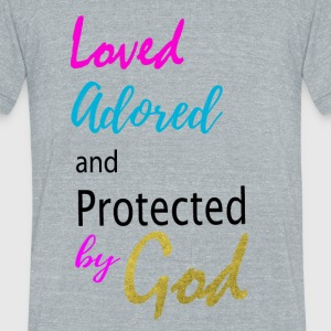 By God 2 - Unisex Tri-Blend T-Shirt by American Apparel