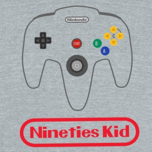 90s kid - Unisex Tri-Blend T-Shirt by American Apparel
