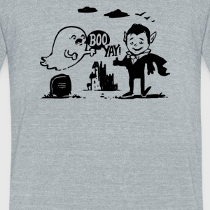 Yay and Boo - Unisex Tri-Blend T-Shirt by American Apparel