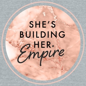 She's Building Her Empire - Unisex Tri-Blend T-Shirt by American Apparel