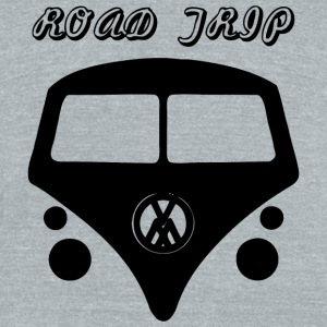 Road Trip - Road Trip - Unisex Tri-Blend T-Shirt by American Apparel