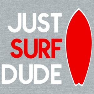 Surf - Surf - Unisex Tri-Blend T-Shirt by American Apparel