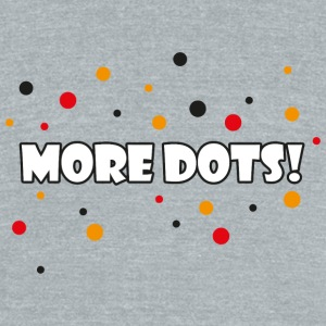 Gamer - More Dots! - Unisex Tri-Blend T-Shirt by American Apparel