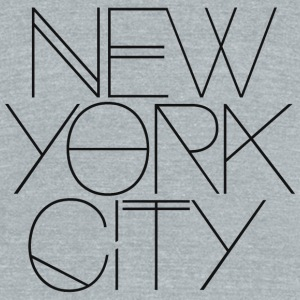 NYC - NYC - Unisex Tri-Blend T-Shirt by American Apparel