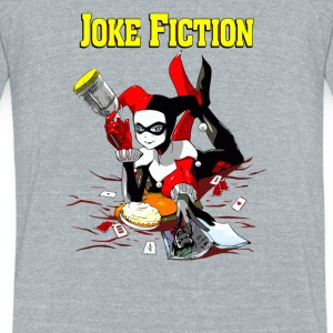Joke Fiction - Unisex Tri-Blend T-Shirt by American Apparel