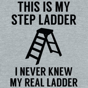 Step Ladder - Unisex Tri-Blend T-Shirt by American Apparel