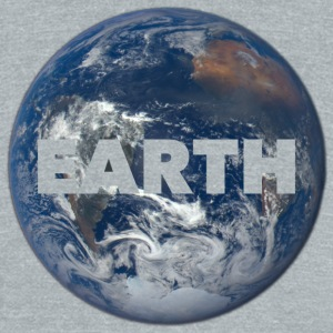 Earth - Unisex Tri-Blend T-Shirt by American Apparel