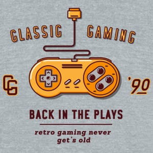 back in the plays - Unisex Tri-Blend T-Shirt by American Apparel
