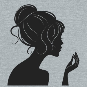 Collection of girls - Unisex Tri-Blend T-Shirt by American Apparel