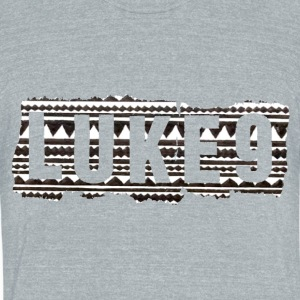 luke9 trible - Unisex Tri-Blend T-Shirt by American Apparel