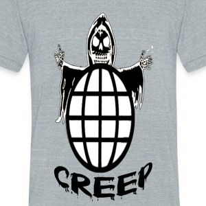 CREEP - Unisex Tri-Blend T-Shirt by American Apparel