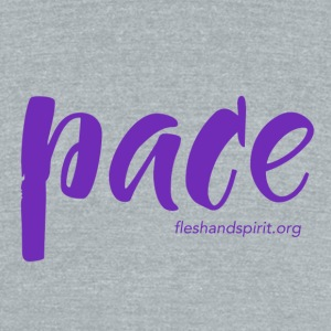 Pace t-shirt - Unisex Tri-Blend T-Shirt by American Apparel