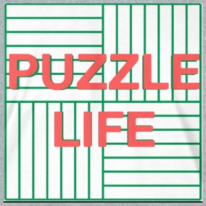 PUZZLE LIFE - Unisex Tri-Blend T-Shirt by American Apparel