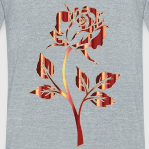 Rose by Originals - Unisex Tri-Blend T-Shirt by American Apparel