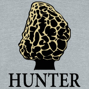 Morel Hunter - Unisex Tri-Blend T-Shirt by American Apparel