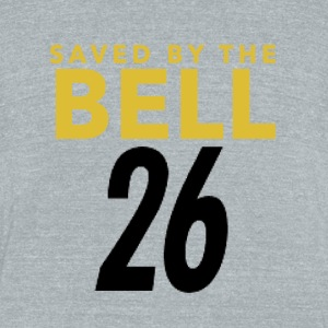 Pittsburgh Football Saved By The Bell - Unisex Tri-Blend T-Shirt by American Apparel