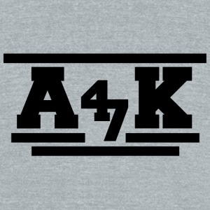 AK - Unisex Tri-Blend T-Shirt by American Apparel