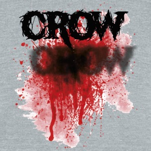Bloody Crow - Unisex Tri-Blend T-Shirt by American Apparel