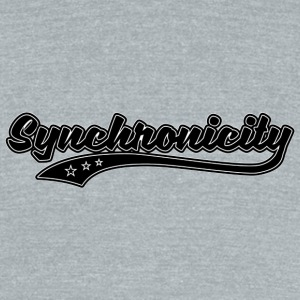 Synchronicity - Unisex Tri-Blend T-Shirt by American Apparel