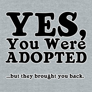Adopted - Unisex Tri-Blend T-Shirt by American Apparel