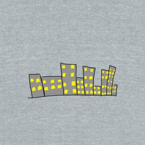 City - Unisex Tri-Blend T-Shirt by American Apparel