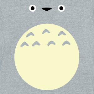 Totoro - Unisex Tri-Blend T-Shirt by American Apparel