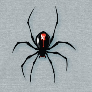 spider - Unisex Tri-Blend T-Shirt by American Apparel