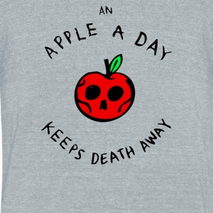 Death Repellent - Unisex Tri-Blend T-Shirt by American Apparel