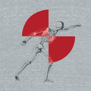 LogoTransparent - Unisex Tri-Blend T-Shirt by American Apparel
