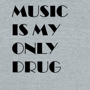 MUSIC_4 - Unisex Tri-Blend T-Shirt by American Apparel