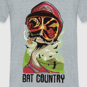 Fear and Mario at Bat Country - Unisex Tri-Blend T-Shirt by American Apparel