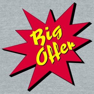 Big Offer / Offer / Chance - Unisex Tri-Blend T-Shirt by American Apparel