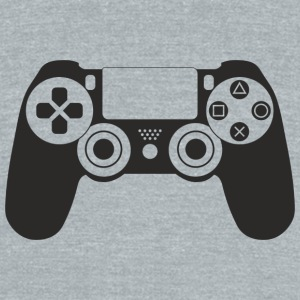 Modern Gaming Controller - Unisex Tri-Blend T-Shirt by American Apparel