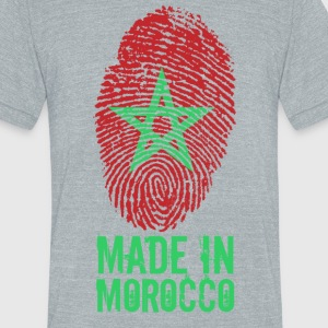 Made in Morocco / المغرب - Unisex Tri-Blend T-Shirt by American Apparel