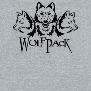 Wolf Pack - Unisex Tri-Blend T-Shirt by American Apparel