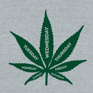 Smoke Weed Everyday - Unisex Tri-Blend T-Shirt by American Apparel
