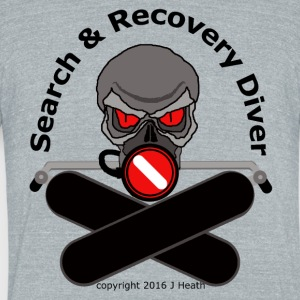 Search and Recovery Diver - Unisex Tri-Blend T-Shirt by American Apparel