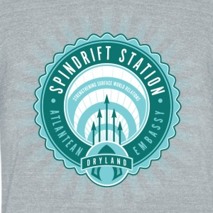 Spindrift Station - Unisex Tri-Blend T-Shirt by American Apparel