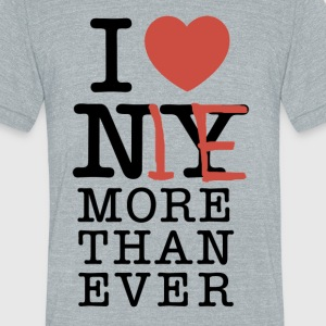 I love Me - Unisex Tri-Blend T-Shirt by American Apparel