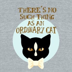 No Such Thing as an Ordinary Cat - Unisex Tri-Blend T-Shirt by American Apparel
