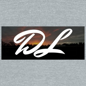 DownrightLegend Sunset Box Logo - Unisex Tri-Blend T-Shirt by American Apparel