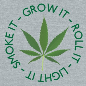 GROW IT! - Unisex Tri-Blend T-Shirt by American Apparel