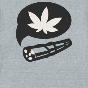 Cannabis - Unisex Tri-Blend T-Shirt by American Apparel