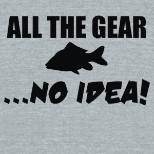 All The Gear No Idea - Unisex Tri-Blend T-Shirt by American Apparel