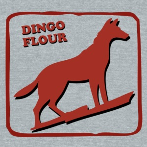 DINGO FLOUR MILL - Unisex Tri-Blend T-Shirt by American Apparel