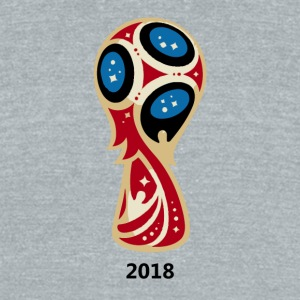 World Cup 2018 Russia - Unisex Tri-Blend T-Shirt by American Apparel