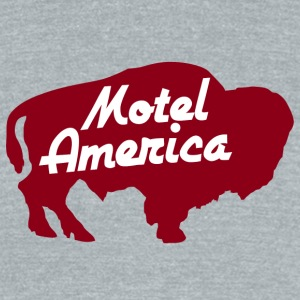 Motel America - Unisex Tri-Blend T-Shirt by American Apparel