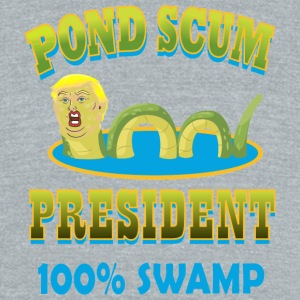 POND SCUM - Unisex Tri-Blend T-Shirt by American Apparel