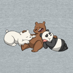 Bear - Unisex Tri-Blend T-Shirt by American Apparel