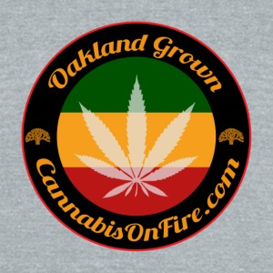 T-shirts Oakland Grown Cannabis 420 wear tshirts - Unisex Tri-Blend T-Shirt by American Apparel
